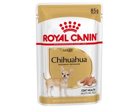 -Comida húmeda para chihuahuas a partir de 8 meses. -Adaptado especialmente a las necesidades de los perros de razas pequeñas.