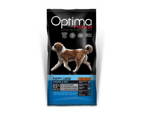 -Pienso de alta calidad para cachorros de razas grandes. -Elaborado con un 65% de carne de pollo apta para el consumo humano.