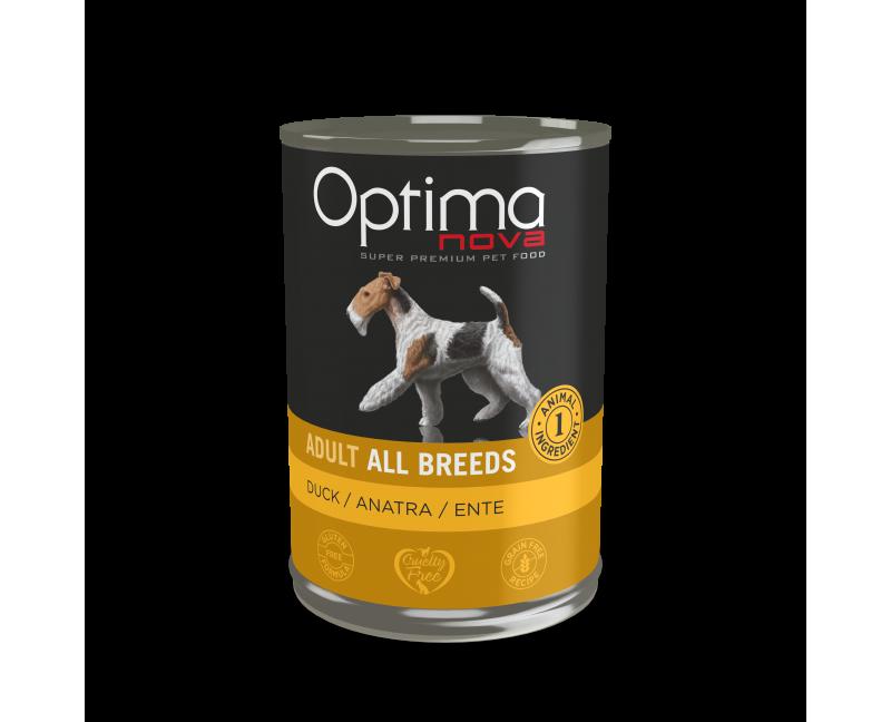 -92% pato fresco. -Con una sola fuente de proteína animal, ideal para disminuir alergias e intolerancias alimentarias. -Recet