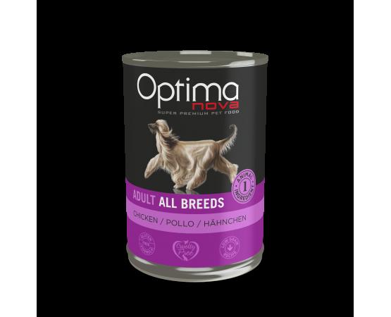 -92% pollo fresco -Con una sola fuente de proteína animal, ideal para disminuir alergias e intolerancias alimentarias. -Elabo