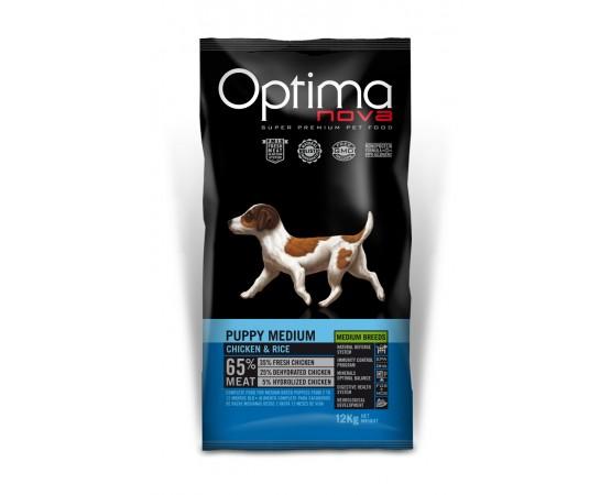 -Pienso de alta calidad para cachorros de razas medium. -Elaborado con un 65% de carne de pollo apta para el consumo humano.