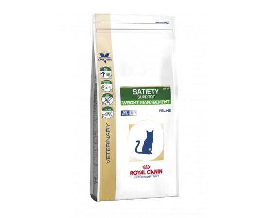 -Contiene una mezcla especial de fibras que tienen un efecto saciante en los gatos. -Elevado contenido de proteínas ) que cont