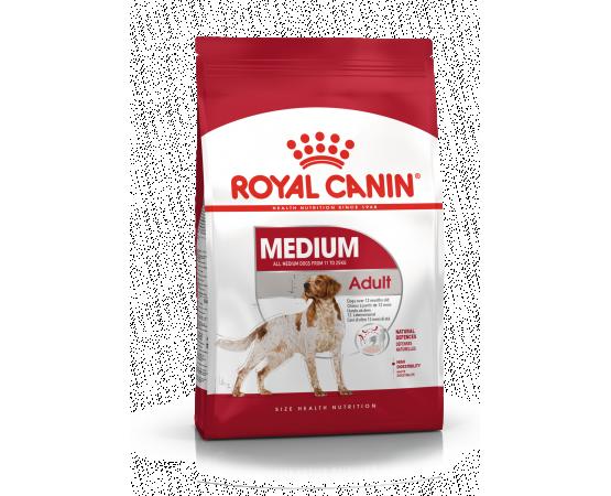 -Está especialmente diseñado para las necesidades especiales de los perros adultos de razas medianas (11 - 25 kg) a partir de l