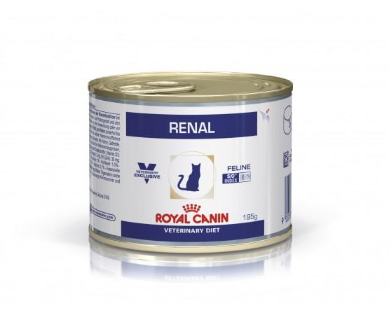 RENAL es un alimento dietético completo para gatos: - Para ayudar a la función renal, en caso de insuficiencia renal crónica o