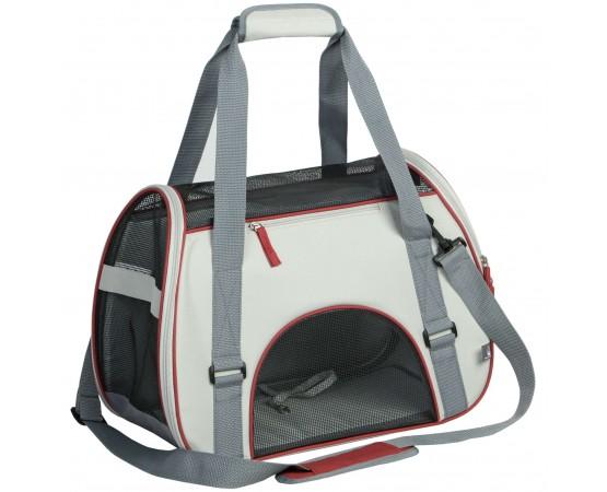 Diseñado para moverse con seguridad, ventilación y máxima visibilidad. La mascota puede permanecer dentro o sacar la cabeza.