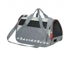 """Con la impresión 3D """"siluetas de mascotas"""". Múltiples ventanas de malla para perfecta aireación y visibilidad. Asas cortas y"""