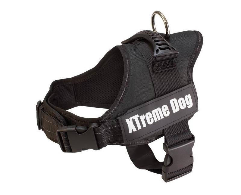 Eficaz arnés con diseño ergonómico para perros.
