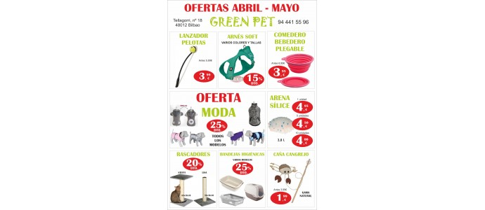 OFERTAS ABRIL-MAYO